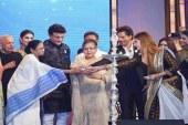কলকাতা চলচ্চিত্র উৎসবের উদ্বোধনে শাহরুখ-সৌরভ, আসেননি অমিতাভ