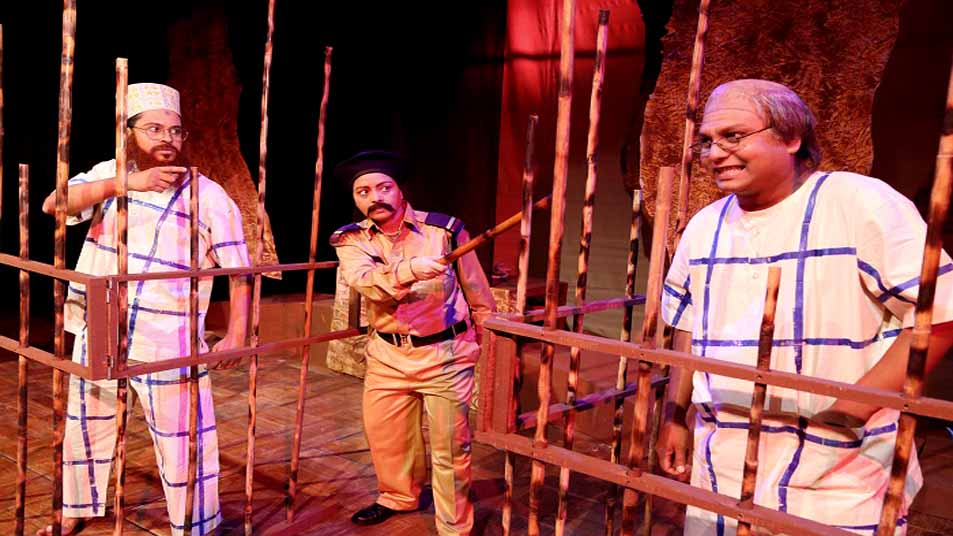 সোমবার শিল্পকলায় নাটক 'কনডেমড সেল'