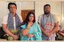 চলছে ওমর সানী-মৌসুমী-জায়েদের 'সোনার চর' সিনেমার শুটিং